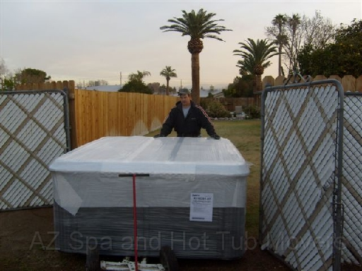 Az Spa and Hot Tub Movers need to plan the route in advance for placement or removal.